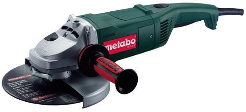Metabo W25-230 240V - 2,500W 230mm (9inch) Angle Grinder - with rotating back handle - 2