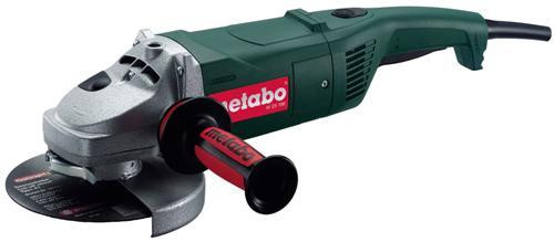 Buy Metabo W23-180 240V - 2,300W 180mm (7inch) Angle Grinder - with rotating back handle at Toolstop