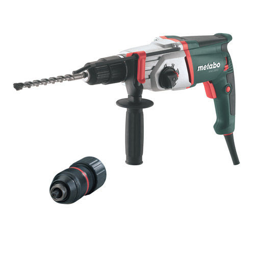 Metabo 600656390 KHE2850 SDS+ Hammer Drill 110V with 3-Jaw Chuck - 3