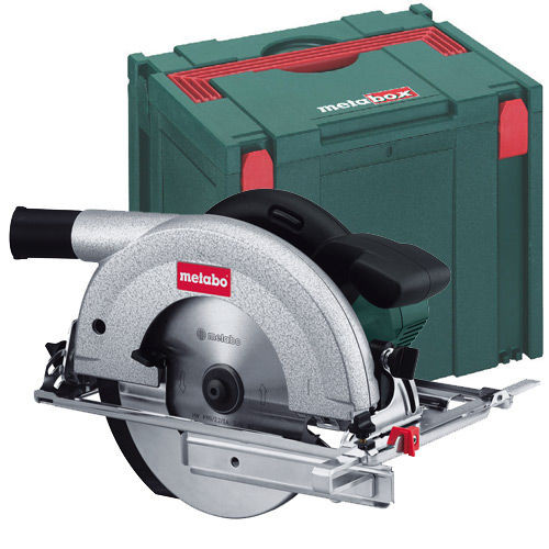 Buy Metabo KS66 Plus Circular Saw + Metabox IV 240V at Toolstop