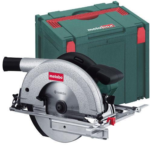 Buy Metabo KS66 Plus Circular Saw + Metabox IV 110V at Toolstop