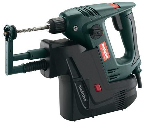 Buy Metabo BHE20 Compact and IDR 110V - 450W Two Function SDS Plus Rotary Hammer - with integrated dust extraction at Toolstop