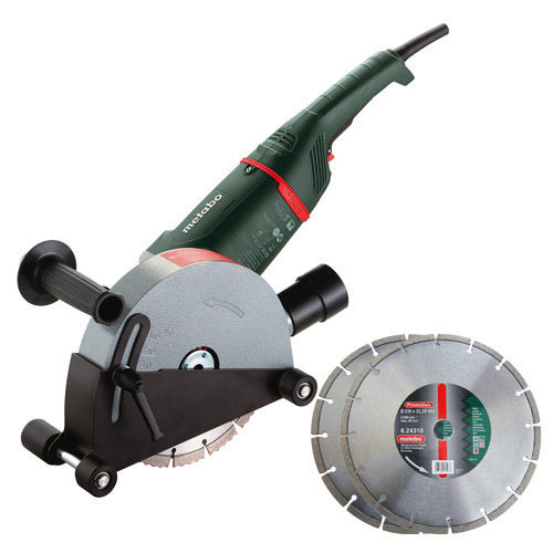 Metabo MFE65 - 2,400W Wall Chaser - Inc 2 x Diamond Blades - 110V - 2