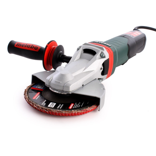 Metabo WEPBF 15-150 Quick Flat-Head Angle Grinder 6 Inch / 150mm 1500W 110V - 3