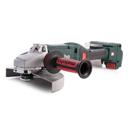 Metabo WPB 36-18 LTX BL 230 36V Angle Grinder 9in (Body Only) Accepts 2 x 18V Batteries - 4