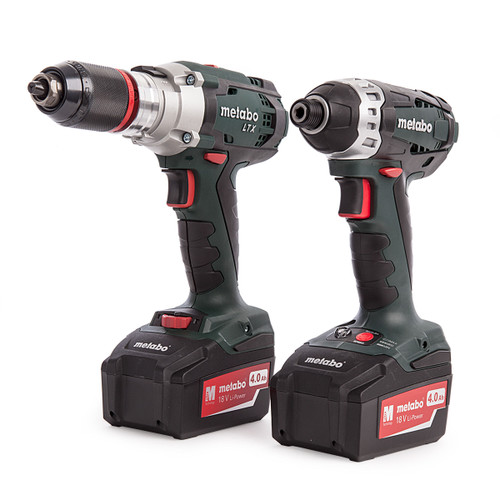 Metabo Combo Set 2.1.6, SB 18 LTX, SSD 18LTX, Charger, Carry Case (2 x 4.0Ah Batteries) - 5
