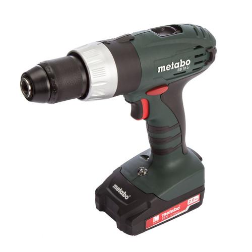 Metabo SB18Li 18V Cordless Combi Drill (2 x 2.0Ah Batteries) - 4