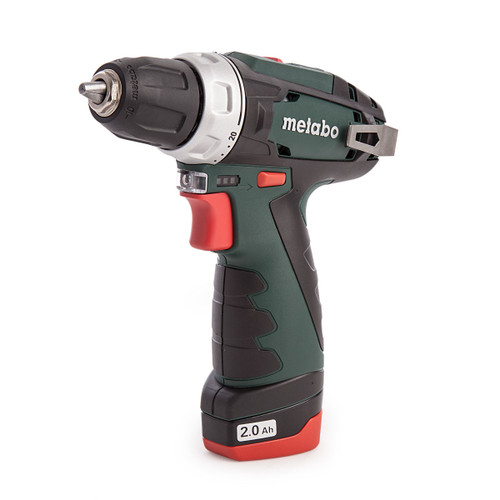 Metabo 600080930 PowerMaxx BS Basic Set (2 x 2.0Ah Batteries) with PowerMaxx TLA LED Torch + 15 Piece Bit Set  - 5
