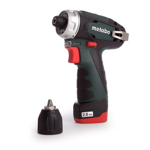 Metabo 600080500 10.8V PowerMaxx BS Drill Driver (2 x 2.0Ah Batteries) - 6
