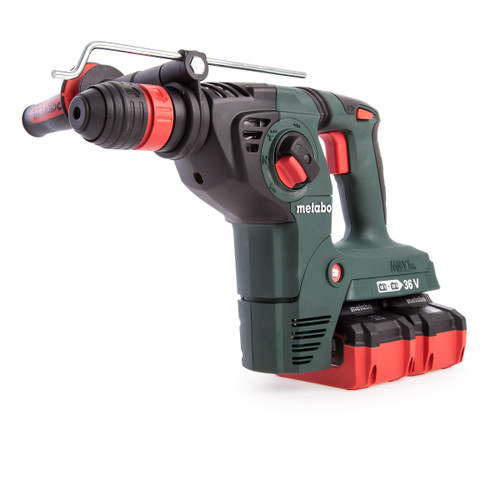 Metabo KHA36-18LTX32 36V Cordless SDS Plus Combination Hammer (4 x 6.2Ah Batteries) - 6