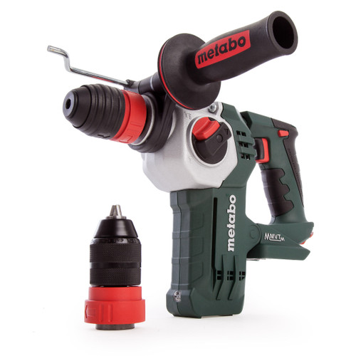 Metabo KHA 18 LTX BL 24 Quick Brushless SDS Plus Hammer Drill (Body Only) - 7