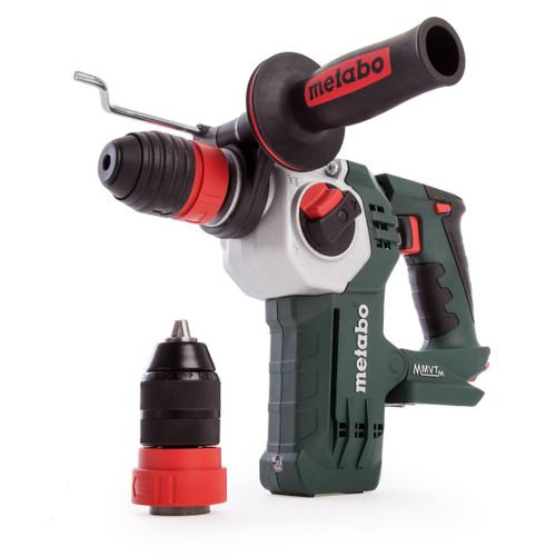 Metabo KHA 18 LTX BL 24 Quick Brushless SDS Plus Hammer Drill (Body Only) - 7