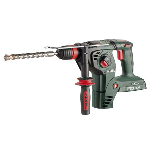Metabo KHA 36-18 LTX 32 SDS Plus 3 Function Hammer with 3 Jaw Chuck (Body Only) Accepts 2 x 18V Batteries - 5