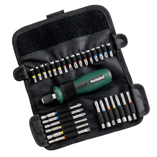 Metabo 6.26726 Assorted Bit Set Roll-Up SP (30 Piece) - 4