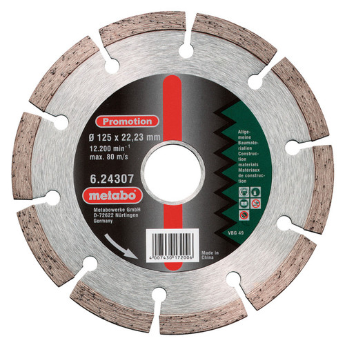 Metabo 6.24306 Diamond Cutting Disc 115mm x 22.23mm - 2