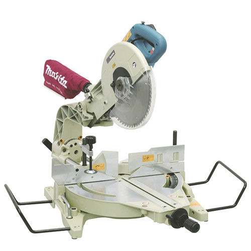 Makita LS1214X 110V 305mm Dual Slide Compound Mitre Saw with Table - 4