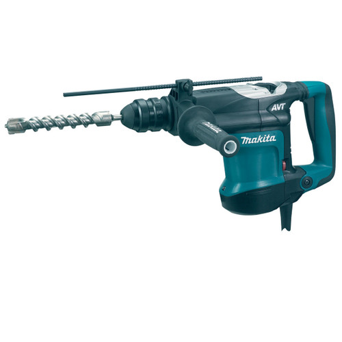 Makita HR3210FCT SDS+ Rotary Hammer with Quick Change Chuck & Adapter 240V