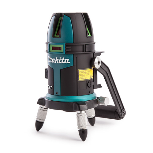 Makita SK209GDZ 10.8V CXT Green Line Laser - 3 Line (Body Only) - 4