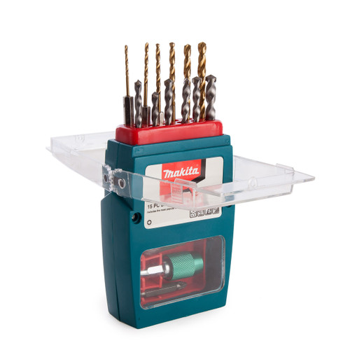 Makita P-57093 Drill & Bit Set (15 Piece) - 4