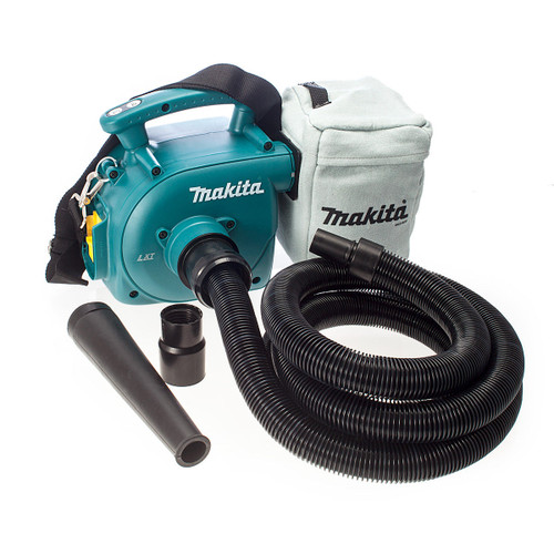 Buy Makita DVC350Z 18V Cordless Li-ion Vacuum Cleaner / Dust Extractor / Blower (Body Only) at Toolstop
