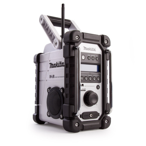 Makita DMR109W Job Site Radio DAB (White) - 4