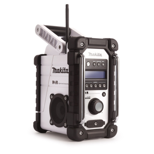 Makita DMR104W White Job Site Radio Stereo with DAB and FM (Replaces BMR104W) - 3