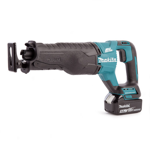 Makita DJR187RTE 18V Brushless Reciprocating Saw (2 x 5.0Ah Batteries)  - 3