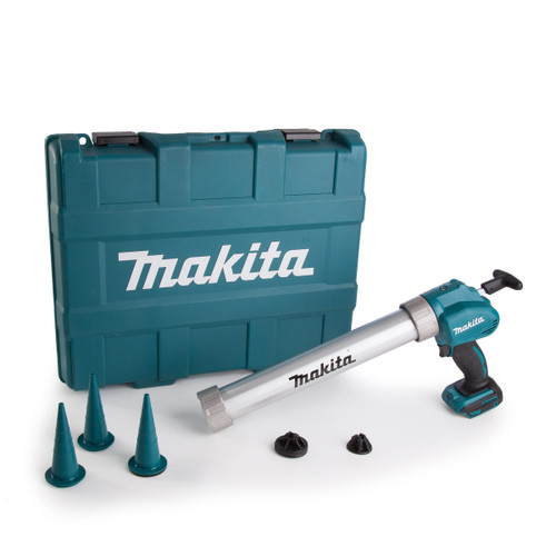 Makita DCG180ZBK 18V Cordless li-ion Caulking Gun (Body Only) in Carry Case - 4