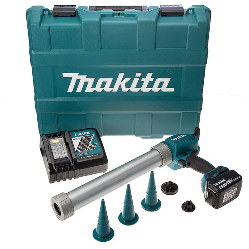 Makita DCG180RMB 18V Cordless li-ion Caulking Gun in Carry Case (1 x 4Ah Battery) - 3