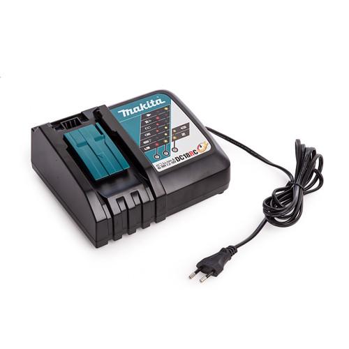 Buy Makita DC18RC-EU 2 pin Fast Battery Charger Li-ion 14.4V - 18V (240V) at Toolstop