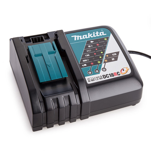 Makita DC18RC Fast Battery Charger Li-ion 14.4V - 18V (110V) - 3