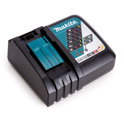 Makita DC18RC Fast Battery Charger Li-ion 14.4V - 18V (240V) - 2