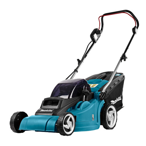 Makita DLM380 Lawnmower with Twin Charger (4 x 3.0Ah Batteries) - 6
