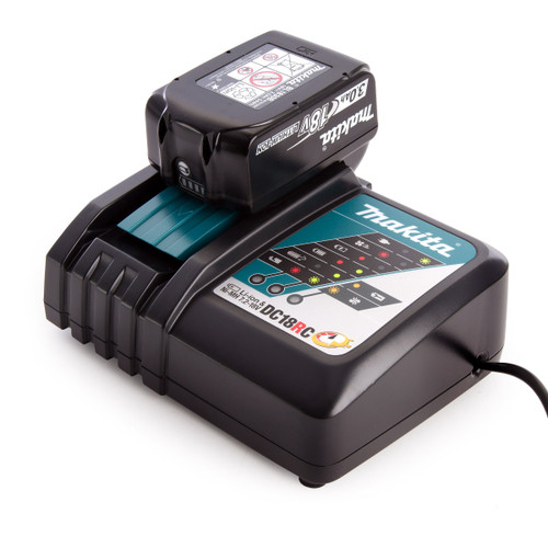 Makita DC18RC Charger + BL1830B 3.0Ah Battery - 2