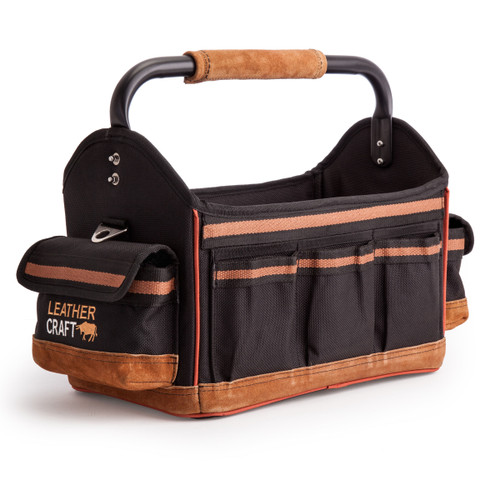Leather Craft LC708 Open Bag 15 Inch - 4
