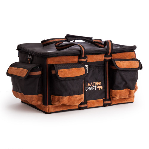 Leather Craft LC707 Square Closed Bag 18 Inch - 4