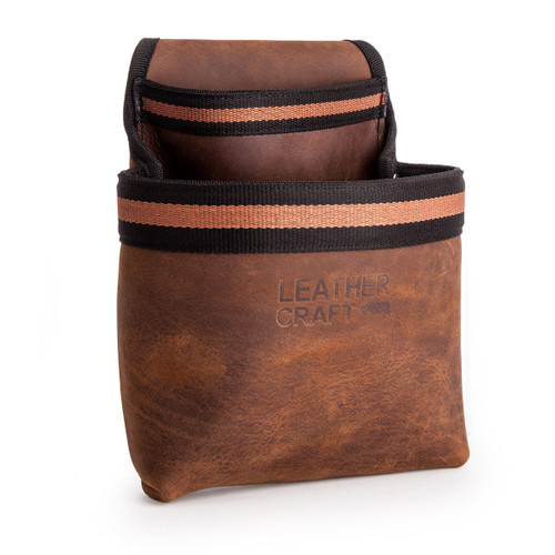 Leather Craft LC501 Single Tool Pouch with Speed Square Holder - 3