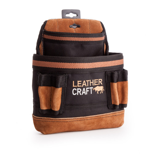 Leather Craft LC202 Single Pouch with Speed Square Holder - 3