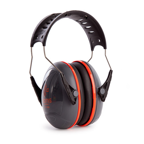 JSP AEB030-0AY-000 Sonis Compact Ear Defenders With Over Moulded Headband - Dark Grey - SNR32 - 3