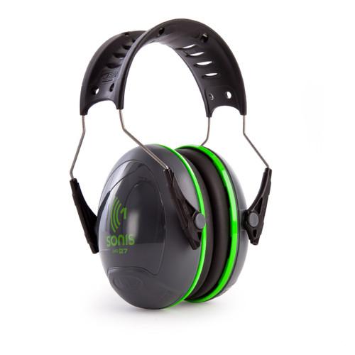 JSP AEB010-0AY-800 Sonis 1 Ear Defenders With Over Moulded Headband - Dark Grey - SNR27 - 3