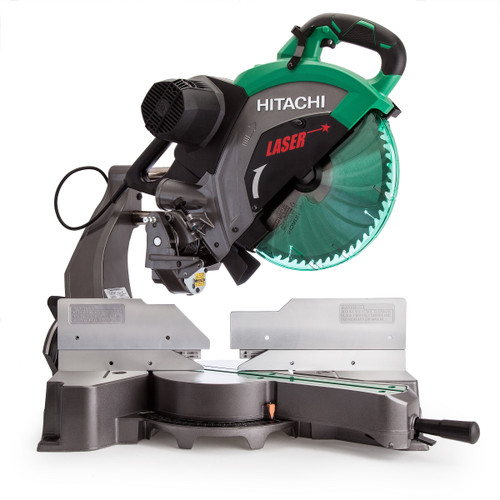 Hitachi C12RSH2 Slide Compound Mitre Saw with Laser Marker 12 inch / 305mm 240V - 6
