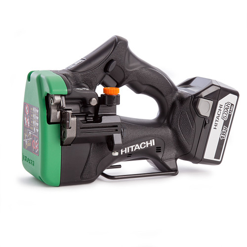 Hitachi CL18DSL Cordless Stud Cutter With Charger and Kitbox (2 x 5.0Ah Batteries) - 5