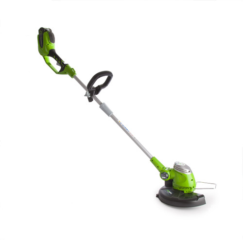 Greenworks G40LTK2 40V String Trimmer 10S Motor With 2Ah Battery - 4