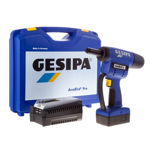 Gesipa 7320001 Accubird Pro 18V li-ion Cordless Riveting Tool (1 x 2.1Ah Battery) - 3