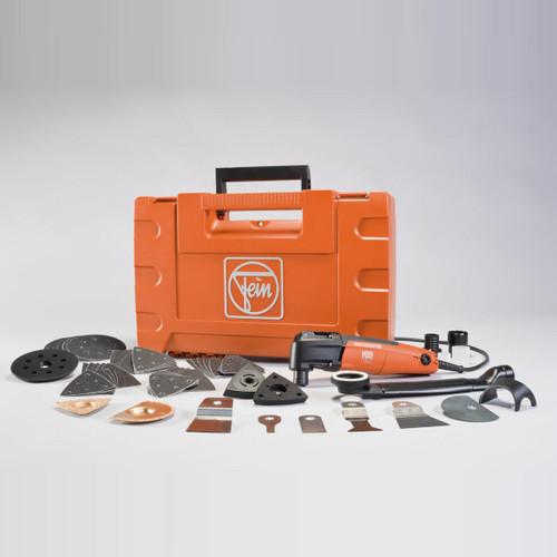 Buy Fein FMM250 Multimaster Limited Edition Oscillating Tool Set 240V at Toolstop