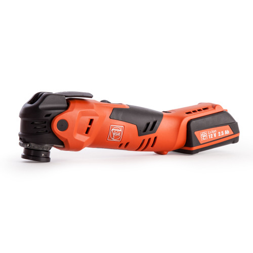 Fein AFMT12QSL Oscillating Multitool 12V li-ion Cordless MultiTalent Quick Start with Starlock Plus and Accessories (2 Batts) - 3