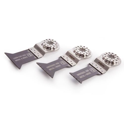 Fein 35222952130 Blade Set E-Cut Combo (Pack Of 3) - 1