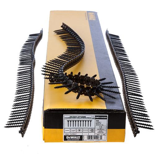 Buy Dewalt DWF4100350 Plastic Collated Drywall Screws Coarse Thread 35mm x 3.5mm (1000 in Box) at Toolstop