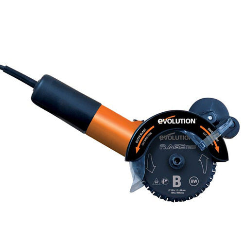 """Buy Evolution RAGETWIN125 125mm 5"""" TCT Multipurpose Twin Blade Saw 240V at Toolstop"""