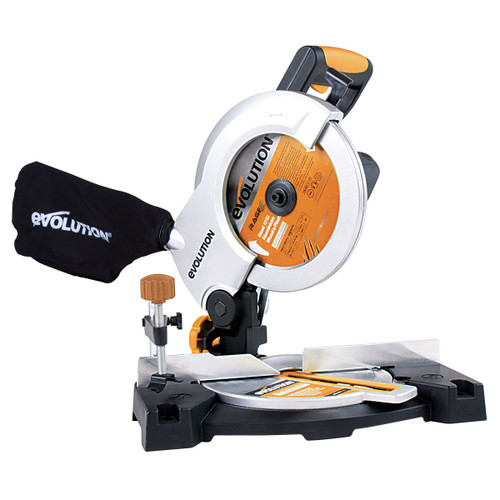 Evolution Rage 3-B 210mm TCT Multipurpose Compound Mitre Saw 240V - 7